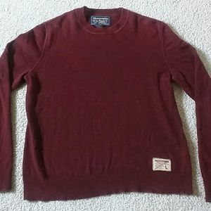 Men's Abercrombie and Fitch sweater size L